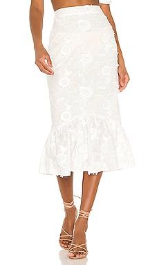 Marcella Midi Skirt Camila Coelho $165