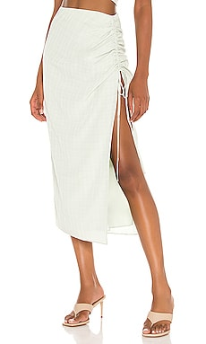 Eden Midi Skirt Camila Coelho $158 NEW