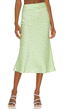Gysele Midi Skirt Camila Coelho $168