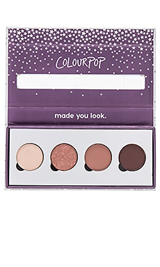 x REVOLVE Pressed Powder Shadow Quad ColourPop $18