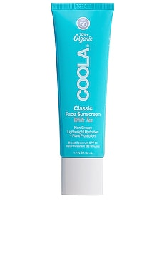 Classic Sport Face SPF 50 White Tea Moisturizer COOLA $32 BEST SELLER