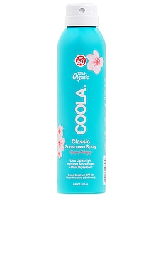 Eco-Lux Body SPF 50 Guava Mango Sunscreen Spray COOLA $36 BEST SELLER