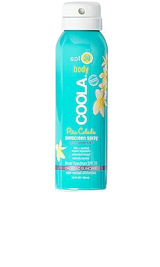 Travel Body SPF 30 Pina Colada Sunscreen Spray COOLA $20