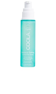 Organic Makeup Setting Spray SPF 30 COOLA $36