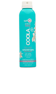 Eco-Lux Body SPF 30 Unscented Sunscreen Spray COOLA $36