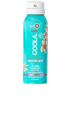 Travel Body SPF 30 Tropical Coconut Sunscreen Spray