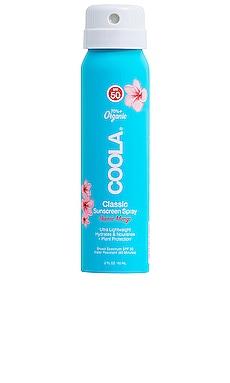Travel Classic Body Organic Sunscreen Spray SPF 50 COOLA $10 BEST SELLER