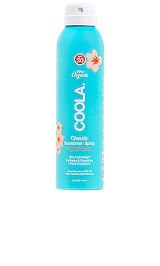 Classic Body Organic Sunscreen Spray SPF 30 COOLA $25 NEW