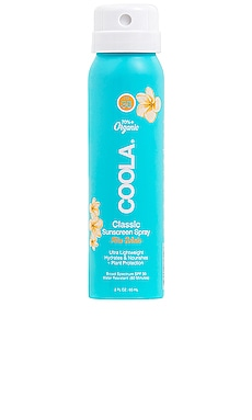 Travel Classic Body Organic Sunscreen Spray SPF 30 COOLA $10