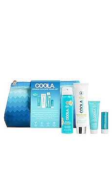 4 Piece Organic Suncare Travel Set COOLA $40
