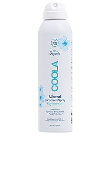Fragrance Free Mineral Body Sunscreen Spray SPF 30 COOLA $28