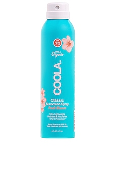 Classic Body Organic Sunscreen Spray SPF 70 COOLA $25