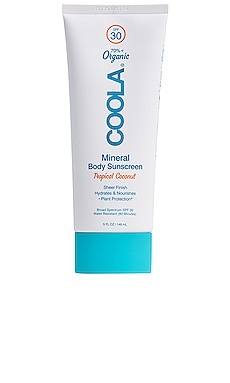 Mineral Body Organic Sunscreen Lotion SPF 30 COOLA $32 BEST SELLER