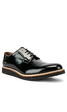 Leather Derby Shine