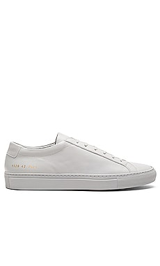 Original Leather Achilles Low Common Projects $425