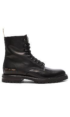 Leather Winter Combat Boots Common Projects $693 BEST SELLER