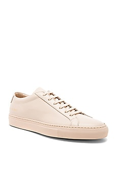 Leather Original Achilles Low Common Projects $411