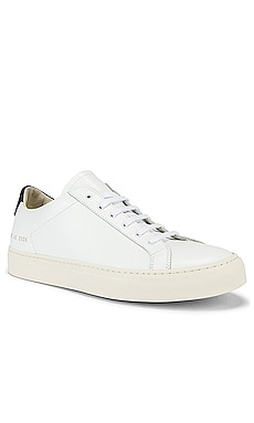 Leather Achilles Retro Low Common Projects $465