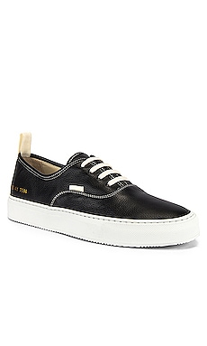 Four Hole in Leather Low Sneaker Common Projects $275