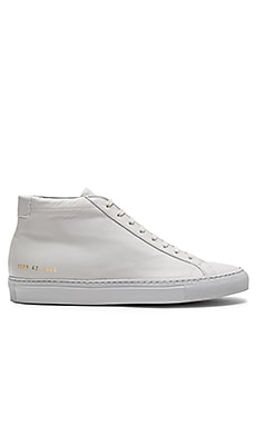 Common Projects Original Achilles Mid in Grey