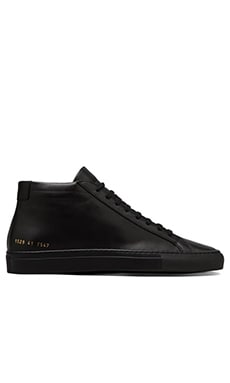 Common Projects Original Achilles Mid in Black