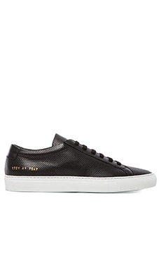 Common Projects Original Achilles Perforated in Black