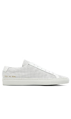Common Projects Original Achilles Perforated in White