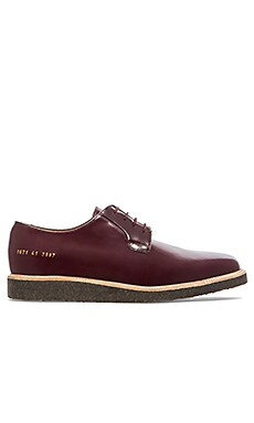 Common Projects Derby Shine in Oxblood