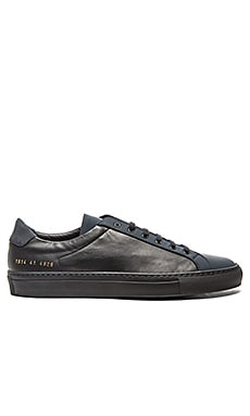 Common Projects Achilles Premium Low in Navy