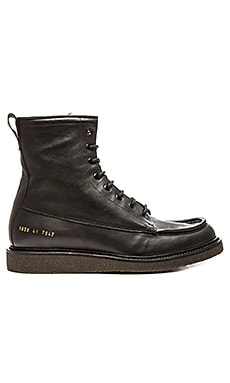 Common Projects Mechanic's Boot in Black