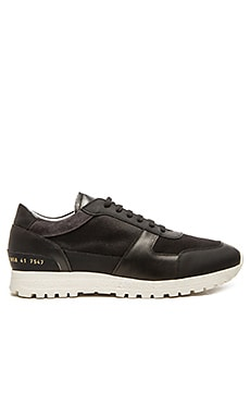 Common Projects Track Shoe in Black