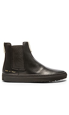 Common Projects Chelsea Trek in Black