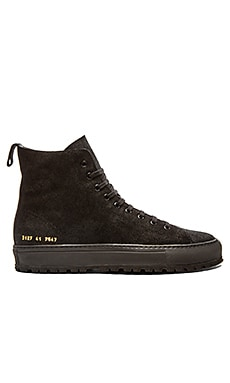 Common Projects Tournament High Lug en Noir