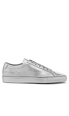 Common Projects Original Achilles Silver Edition in Silver