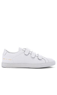 Common Projects Achilles Three Strap in Pure White