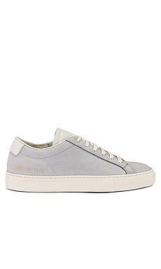 Achilles Low in Nubuck Sneaker Common Projects $461