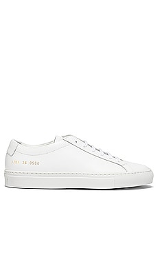 Original Achilles Low Sneaker Common Projects $411 BEST SELLER