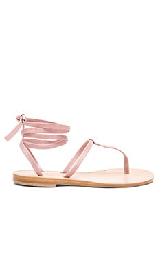 Erchie Sandal in Cameo Pink Calfskin