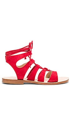 CoRNETTI Recommone Sandals in Red