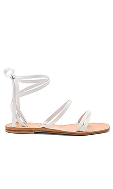 Caruso Sandal in White