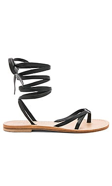 Aiano Sandal in Black