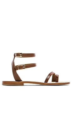 CoRNETTI Carrubina Sandals in Tanned