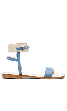CoRNETTI Perla Calfskin Sandal in Baby Blue