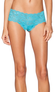 Cosabella Never Say Never Hottie Lowrise Hotpant in Babylon Blue