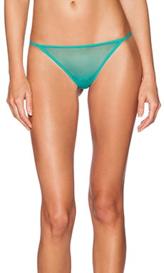 Cosabella Soire Italian Thong in Dynasty Green