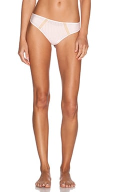 Cosabella Nightingale Lowrise Thong in Pink Lily & Blush