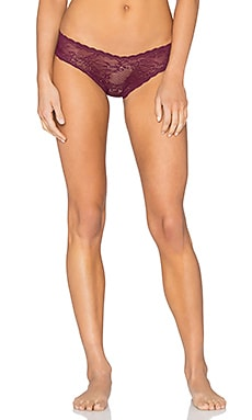Cosabella Trenta Lace Thong in Mulberry
