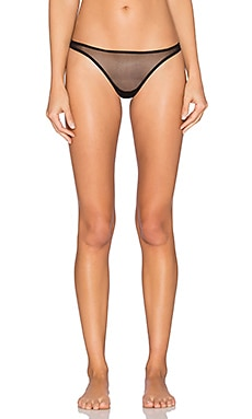 Cosabella Soire Classic Low Rise Thong in Black