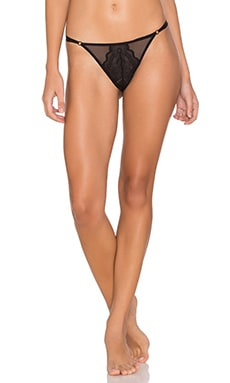 Chance Low Rise Thong in Black