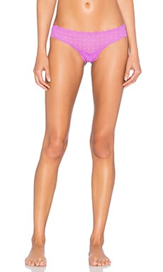 Cosabella Sweet Treats Medallion Thong in Cyclamen